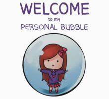 Personal Bubble - Female Kids Tee