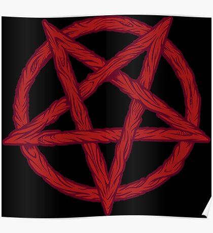 Flesh Pentagram Poster