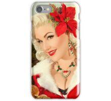 Santa Woman iPhone Case/Skin