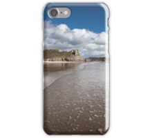 Low tide at the Great Tor iPhone Case/Skin