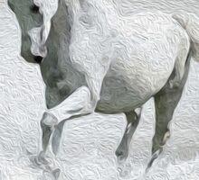 Horse - Oil Paint Art Sticker