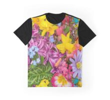 Floral Display Graphic T-Shirt