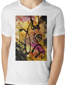 Elation Mens V-Neck T-Shirt