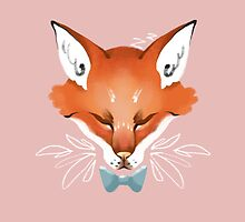 Sleepy Fox by Stanislava Korobkova