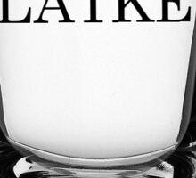 Vodka and Latke Sticker