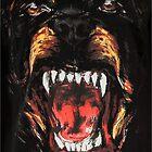 Givenchy - Rottweiler Print by SamSaab