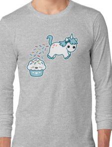 Sprinkle Poo Blue Long Sleeve T-Shirt