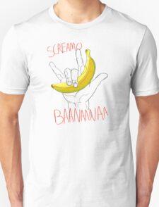 a verry loud banana shirt Unisex T-Shirt