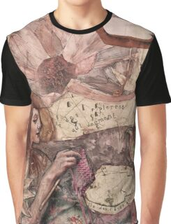 Mon Esprit Voyageur - Feathered Herald of Dreams Graphic T-Shirt