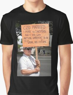 Defender of Traditional Marriage .5 Graphic T-Shirt