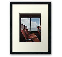 Retro Ferry Framed Print