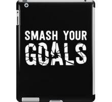 Smash Your Goals - White iPad Case/Skin