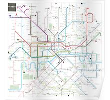 London tube map Poster