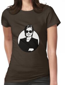 Hillary Clinton is a Badass Womens Fitted T-Shirt