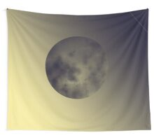 Eerie Moon Wall Tapestry