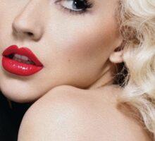 Christina Aguilera - Oil Paint Art Sticker
