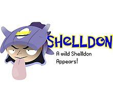A wild Shelldon appears! Photographic Print
