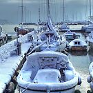 Frozen Boats by paolo1955
