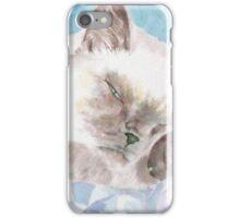 Sleepy Kitten iPhone Case/Skin
