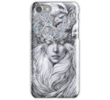 Fairy fairy with white hawks iPhone Case/Skin
