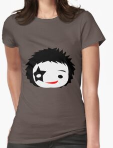 KISS - Starchild Paul Stanley Chibi Womens Fitted T-Shirt