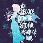 No Escape from the Storm Inside of Me by Ellador
