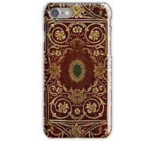 Elizabethan Style Gilded Leather Old Book Cover iPhone Case/Skin