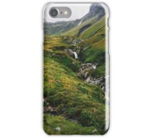 Green Alpine Ticino Landscape iPhone Case/Skin