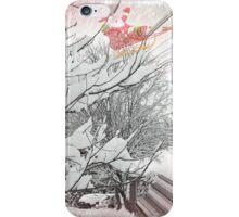 SANTA AND HIS REINDEERS iPhone Case/Skin