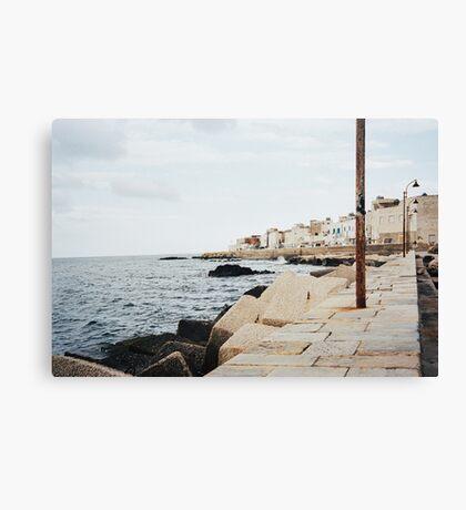 Bella Italia - Marettimo Shot on Film (Porta 400) Canvas Print