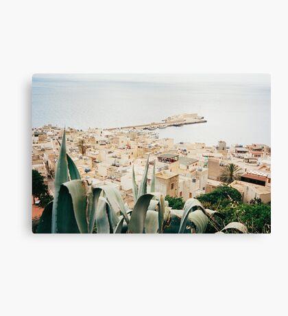 Bella Italia - Marettimo Shot on Film Canvas Print