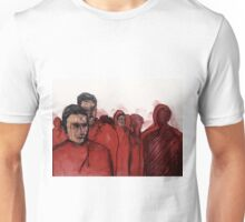 Red Alone Unisex T-Shirt