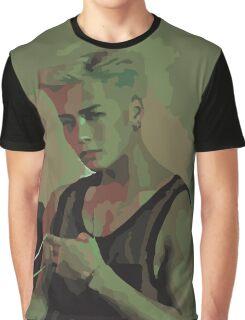 GOT7 Jackson Hard Carry Flat Graphic T-Shirt