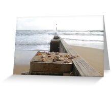 Tranquil Sea Scene Greeting Card