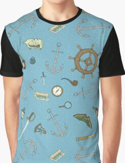 Marine Adventures Graphic T-Shirt