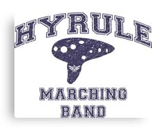 Hyrule Marching Band Canvas Print