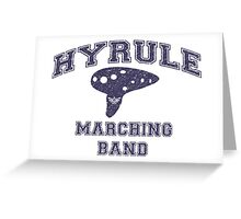 Hyrule Marching Band Greeting Card