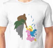 The rising ape meets the fallen angel Unisex T-Shirt
