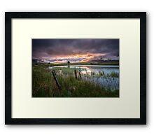 Tewet Tarn Sunrise Framed Print