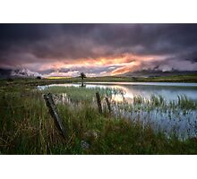 Tewet Tarn Sunrise Photographic Print