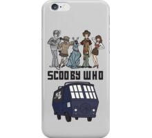 Scooby Who iPhone Case/Skin