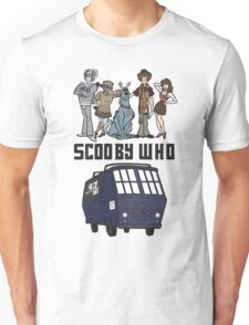 Scooby Who Unisex T-Shirt