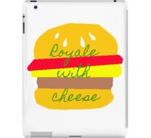 Royale With Cheese - Pulp Fiction iPad Case/Skin