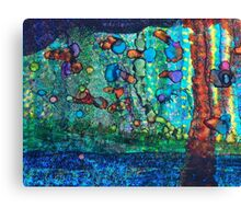 SWIMMING with GUPPIES Canvas Print