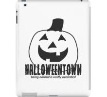 Halloweentown Pumpkin iPad Case/Skin