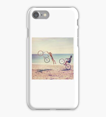Beach bikers iPhone Case/Skin