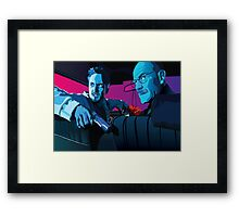 Jesse and Walter Framed Print