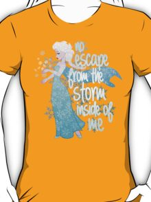 No Escape from the Storm Inside of Me T-Shirt