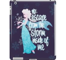 No Escape from the Storm Inside of Me iPad Case/Skin