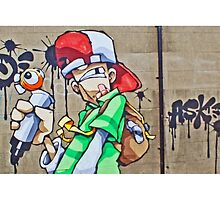 The scribbler by Cheo by Tim Constable